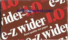 EZ Wider 1.0 Rolling Papers Booklet