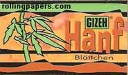 Gizeh Hanf Rolling Papers Booklet