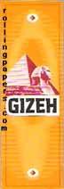 Gizeh Yellow Rolling Papers Booklet