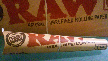 Raw 1 1/4 Natural Cones 6 pack