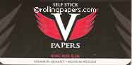 V Self Stick King Roling Papers Booklet